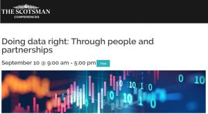 Doing data right: Through people and partnerships @ John McIntyre Conference Centre,